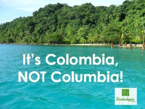 Colombia, not Columbia2